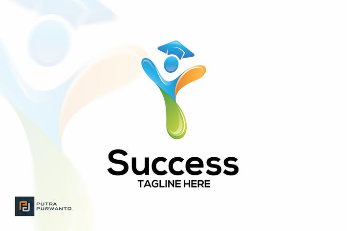 Cover Image For Success - Logo Template