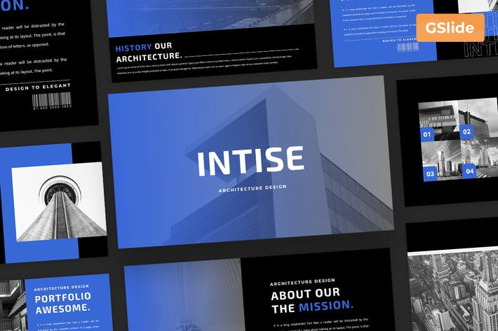 Intise - Google Slide Presentation Template