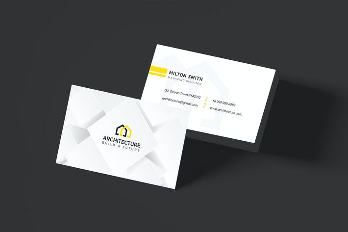 Thumbnail for Architecture Business Card Template