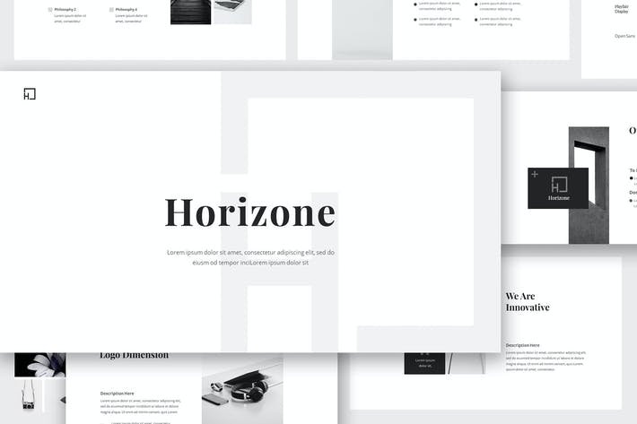 Thumbnail for Horizone Branding Guidelines Google Slides