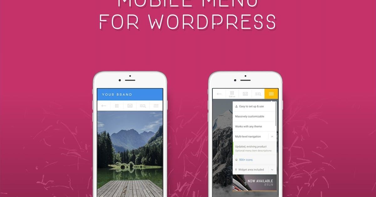 Download Touchy - WordPress Mobile Menu Plugin by BonfireThemes