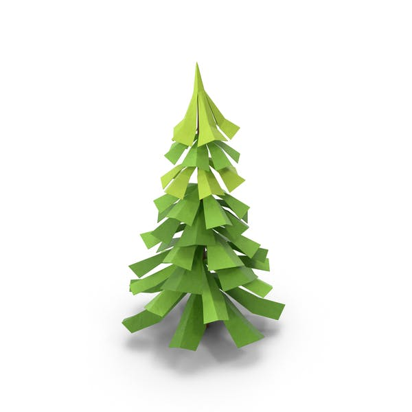 Thumbnail for Low Poly Pine Tree