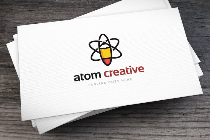 Thumbnail for Atom Creative Logo Template