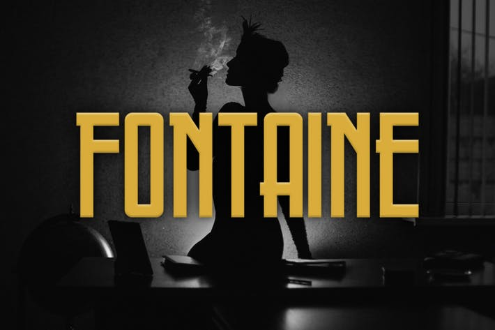 Thumbnail for Fontaine Typeface