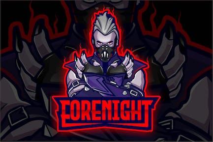 Forenight - Esport Logo Template