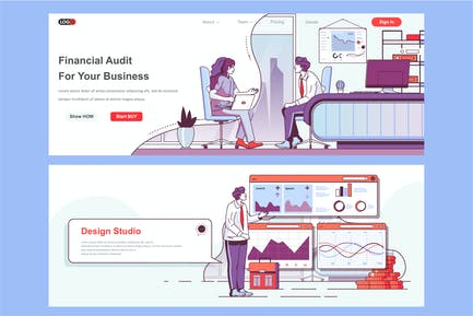 Financial Audit Header Footer or Middle Content