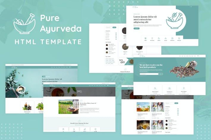 Thumbnail for Pure Ayurveda - Responsive HTML Template