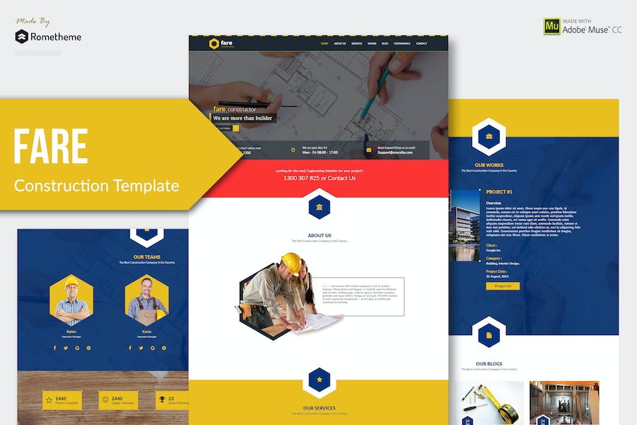 Fare - Construction Muse Template