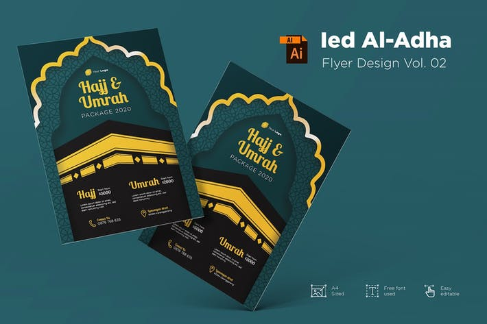 Eid Mubarak Flyer Design Vol.02