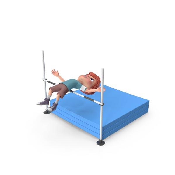 Мультфильм мальчик Чарли прыжок