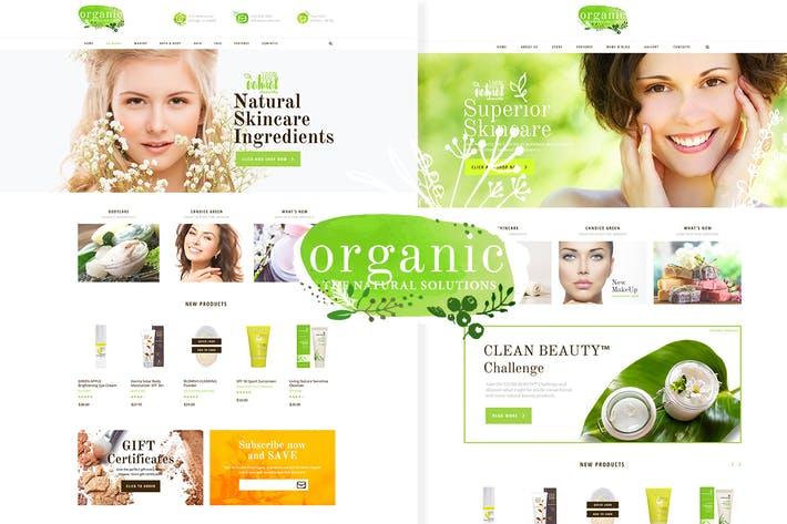Cover Image For Organic Beauty