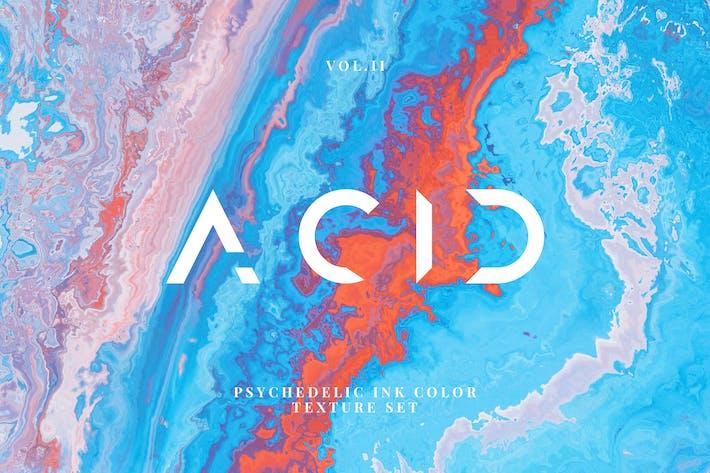 Acid Ink Textures