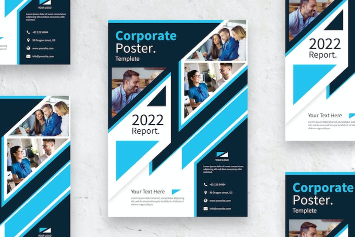 Thumbnail for Corporate - Poster vol.05