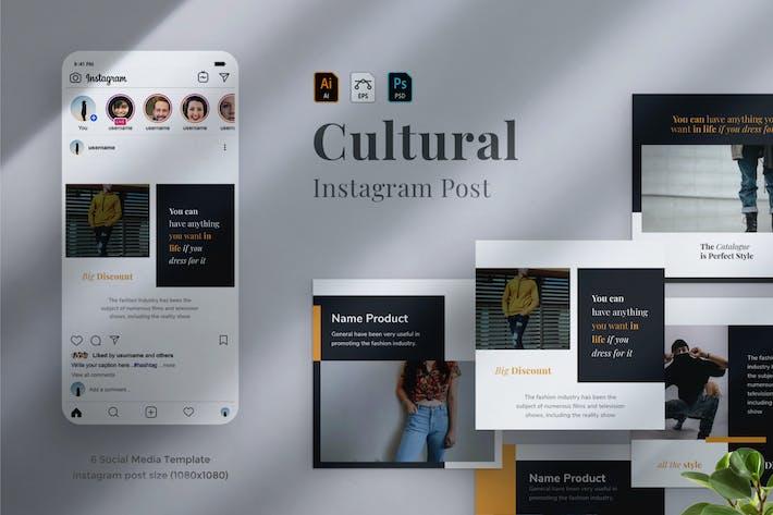 Thumbnail for Cultural - Social Media Post 14
