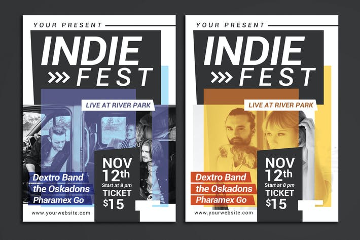 Thumbnail for Indie Fest Flyer
