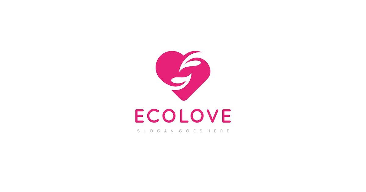 Download Eco Love Logo by 3ab2ou