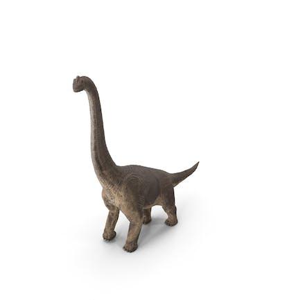 Braquiosaurus Pose Caminando