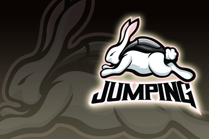Thumbnail for Jummping Rabbit Esport Logo