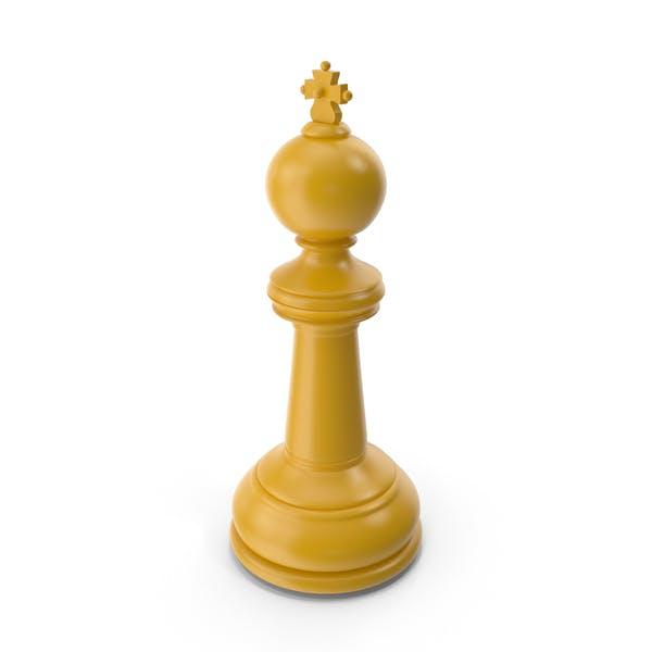 Chess King Yellow