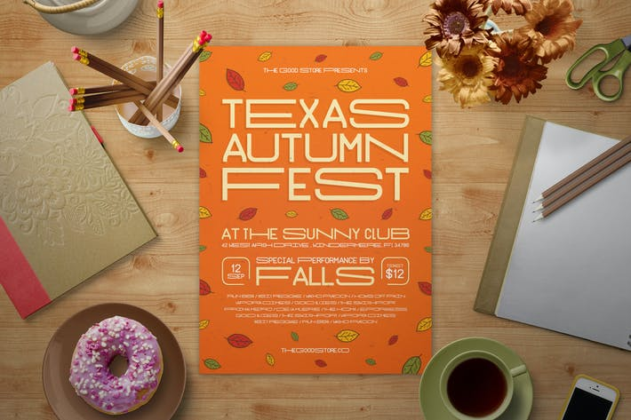 Thumbnail for Fall Music Festival Flyer