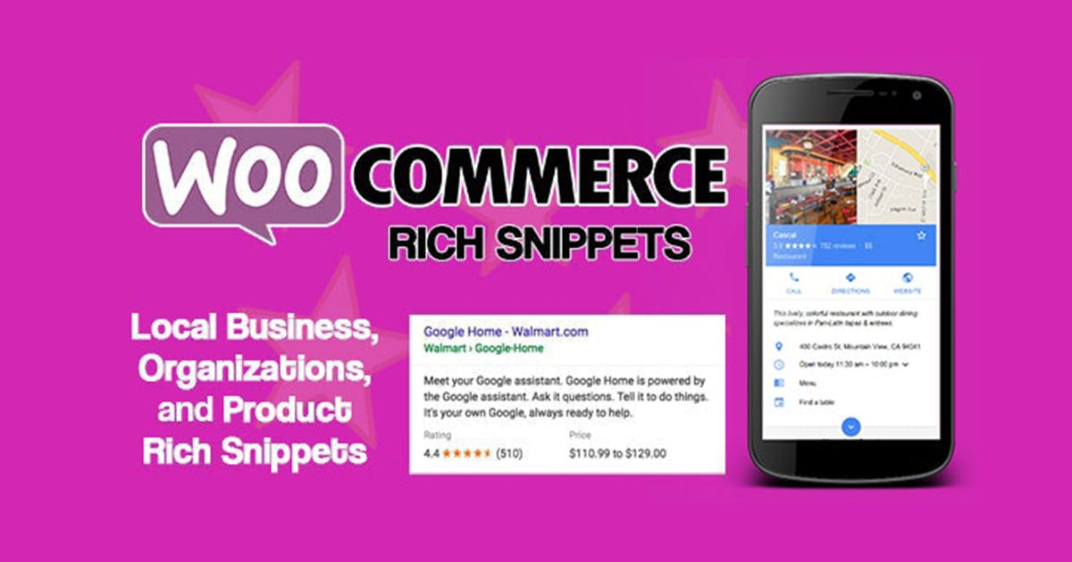 Download WooCommerce Rich Snippets - Local & Business SEO by divcoderPlugins