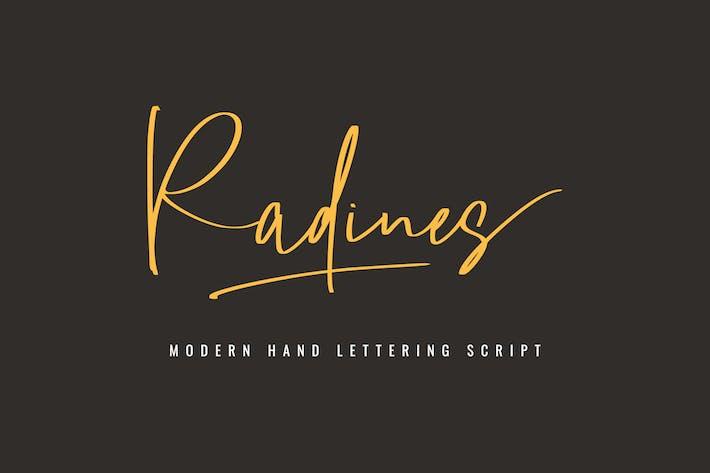 Thumbnail for Radines Font