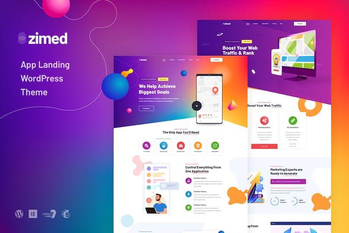 Zimed - App-Landung-WordPress-Them