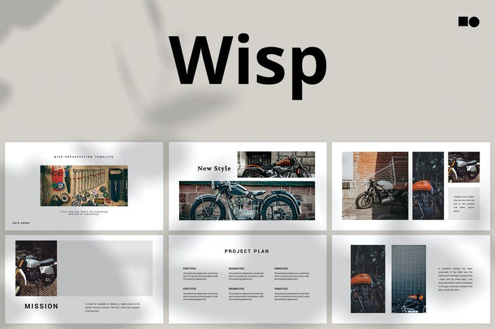 Cover Image For Wisp - Google Slides