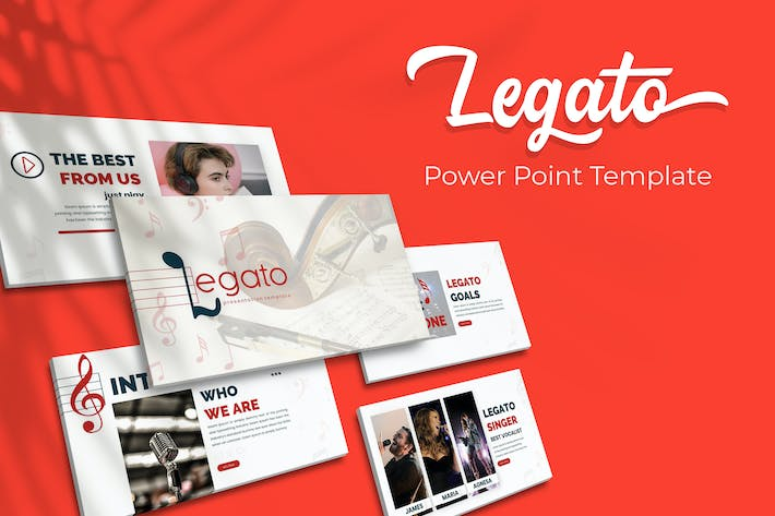 Thumbnail for Legato - Powerpoint Template