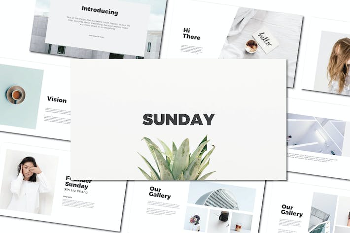 Cover Image For Sunday - Powerpoint Templates
