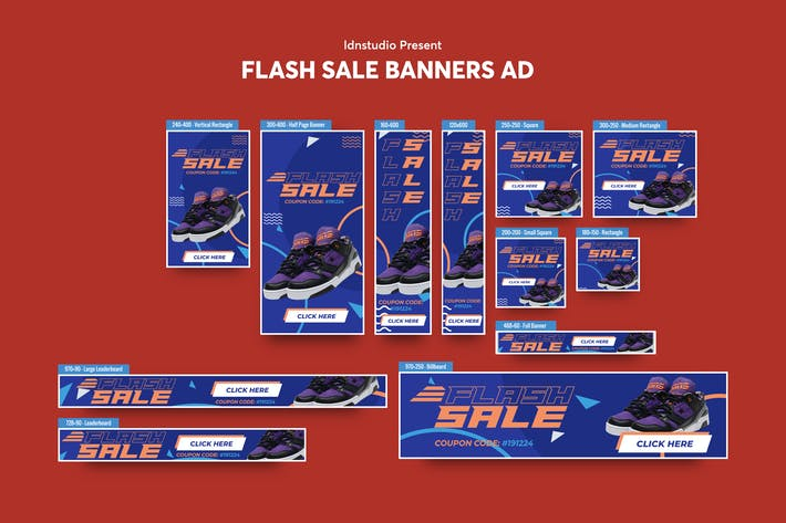 Thumbnail for Flash Sale Banners Ad