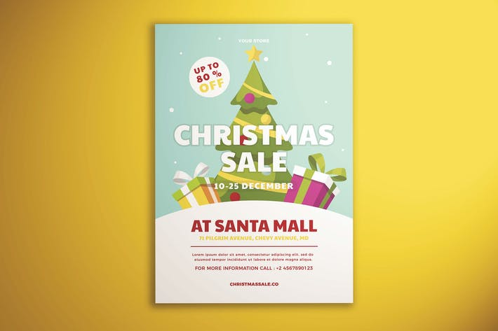 Thumbnail for Christmas Sale Flyer Vol. 01
