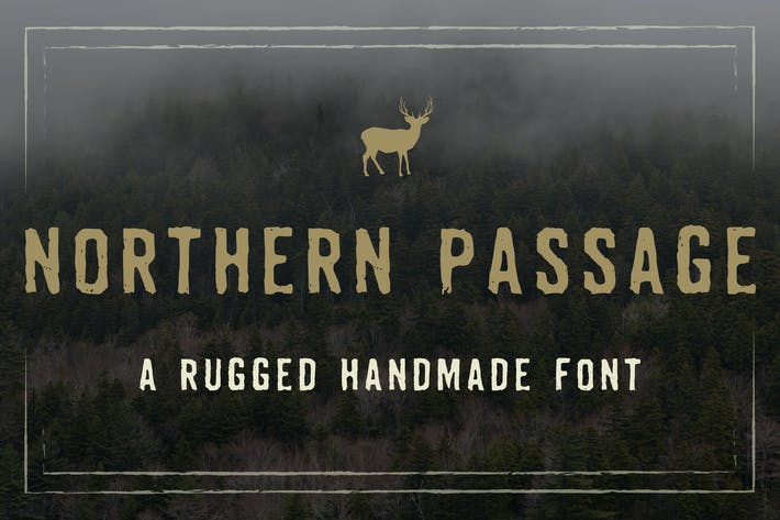 Thumbnail for Northern Passage Font