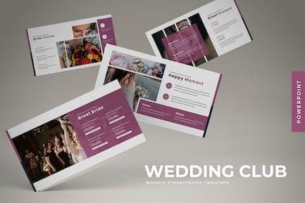 Wedding Club - Powerpoint Template