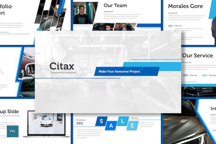 Thumbnail for Citax - Keynote Template