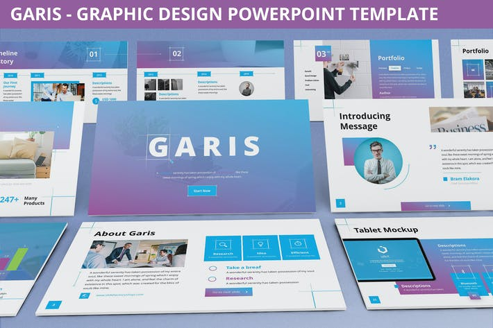 Thumbnail for Garis - Graphic Design Powerpoint Template