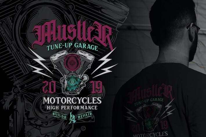 Thumbnail for Motorcycle Badge Volume 2 No.3