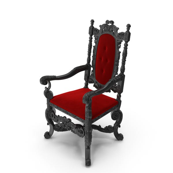 Thumbnail for Baroque English Armchair