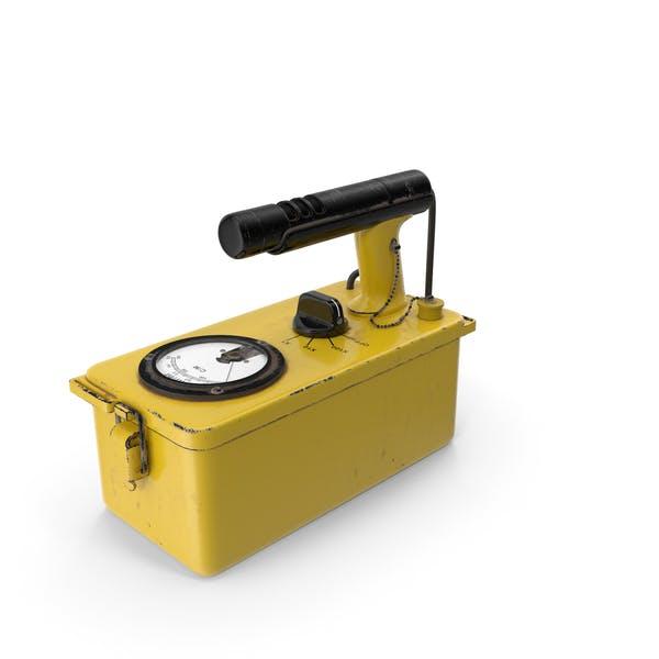 Cold War Geiger Counter Old