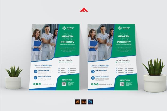 Vaccine Medical Flyer