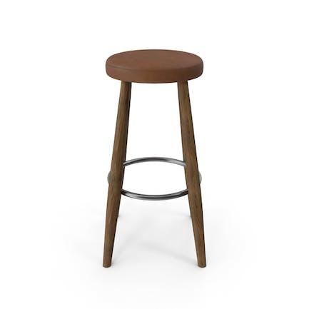 Барный стул Орех Светло-коричневый