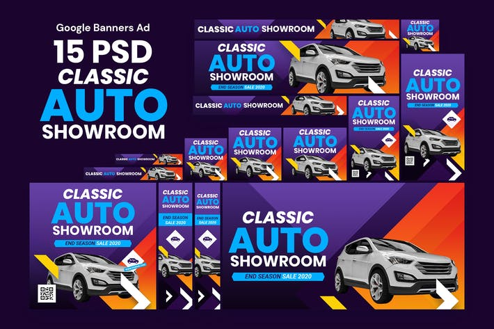 Sale Car Banners Ad