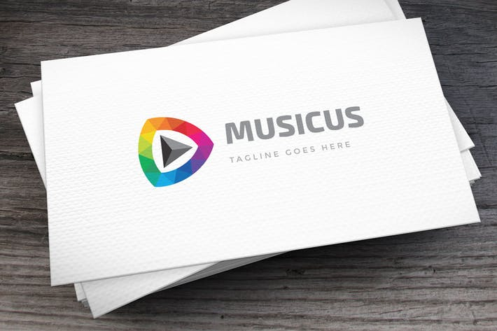 Thumbnail for Musicus Logo Template