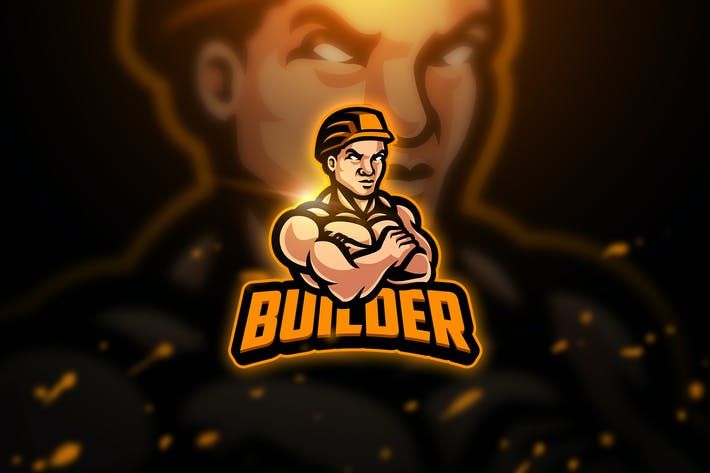 Thumbnail for Builder  3 - Mascot & Esport Logo