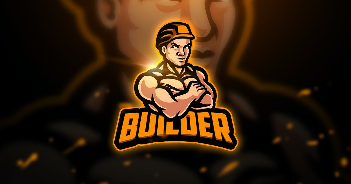 Download Builder  3 - Mascot & Esport Logo by aqrstudio