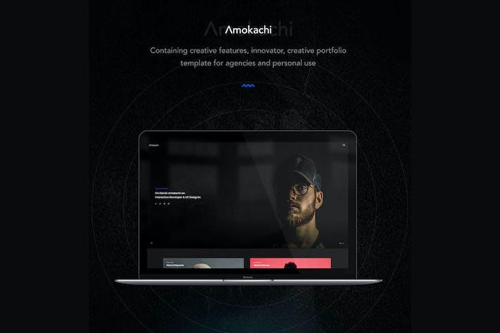 Thumbnail for Amokachi - Creative Portfolio HTML Template