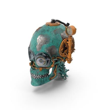 Cráneo steampunk