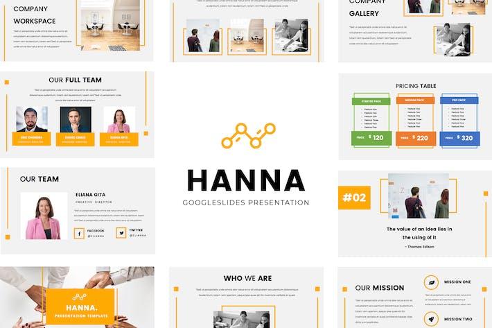 Thumbnail for Hanna Google Slides Presentation