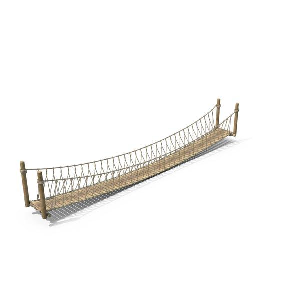 Seil-Hängebrücke