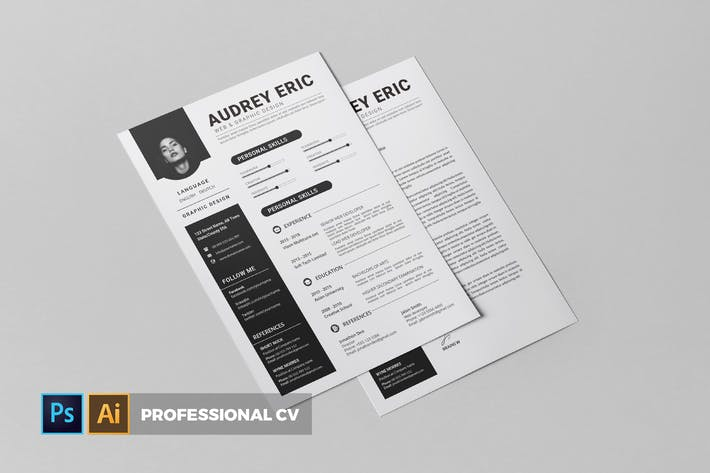 Thumbnail for Professional | CV & Resume